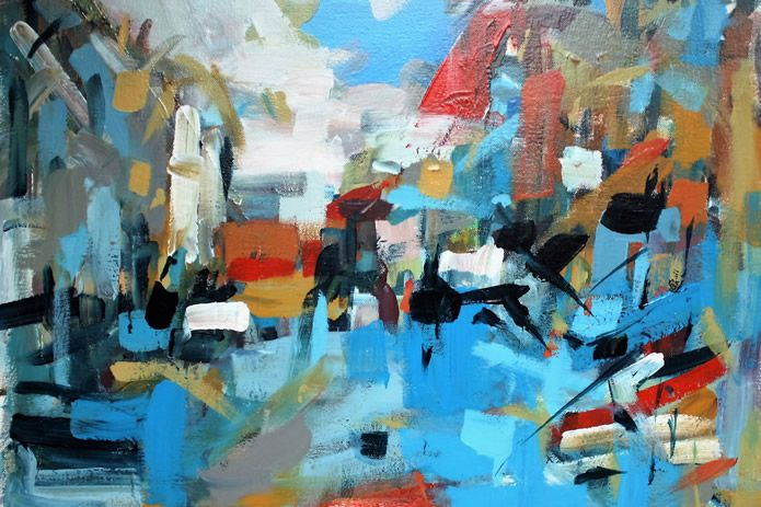 Leonard Sexton - �Somewhere city, paintings�