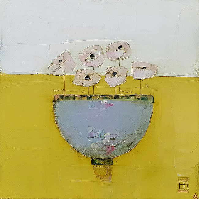 Eithne  Roberts - Little purple bowl