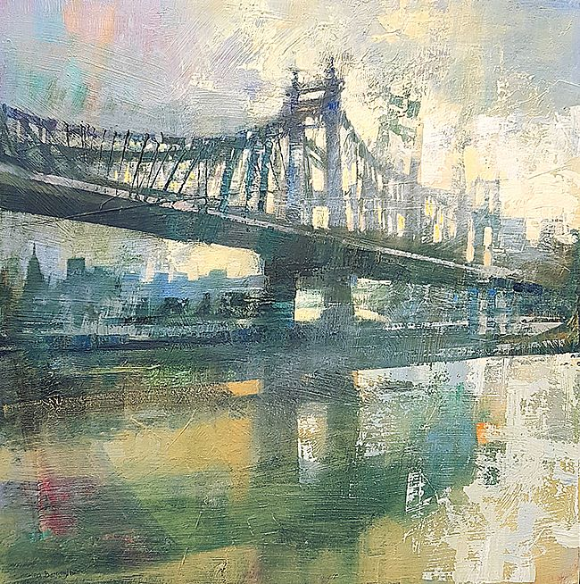 Cristina  Bergoglio - Queensboro bridge