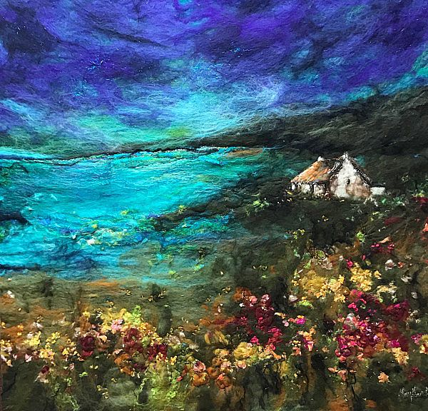 By the sea by Moy  Mackay