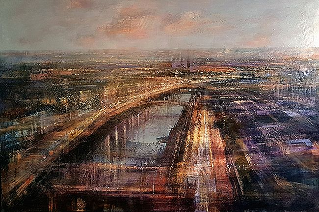 Cristina  Bergoglio - Night lights of Dublin