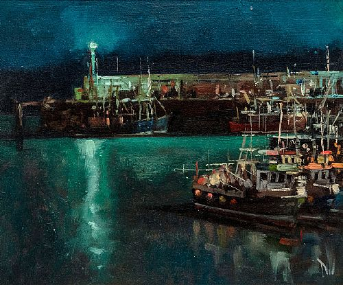 View Night, Ardglass Harbour