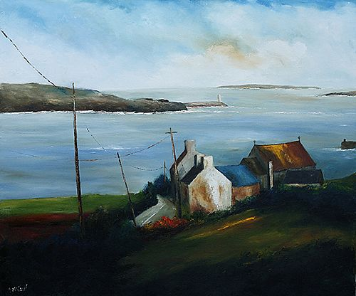 On Inishboffin by Padraig McCaul