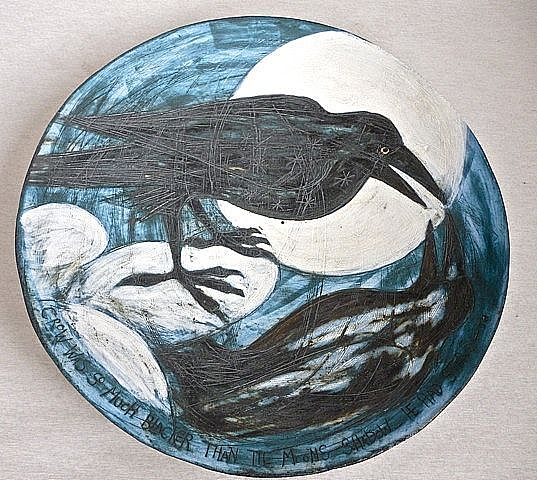 'Crow was so much Blacker than the Moon' (inspired by Ted Hughes)