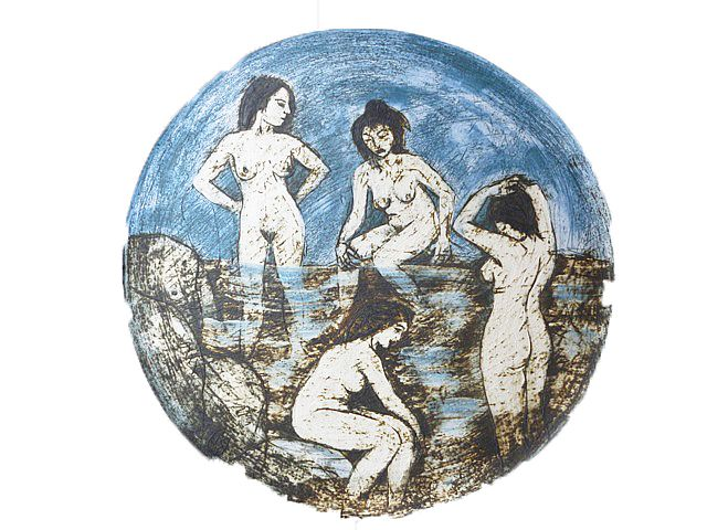 Bathing Beauties by  Unknown