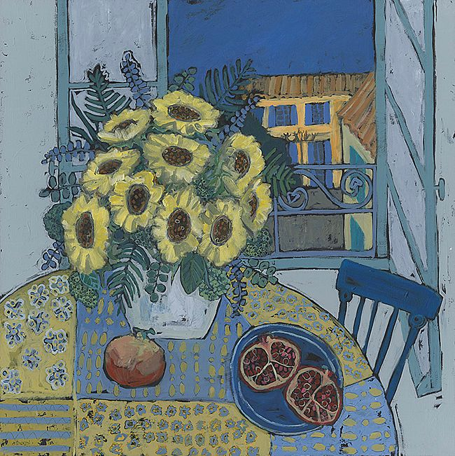 Alison  Dickson - Provencal sunflowers