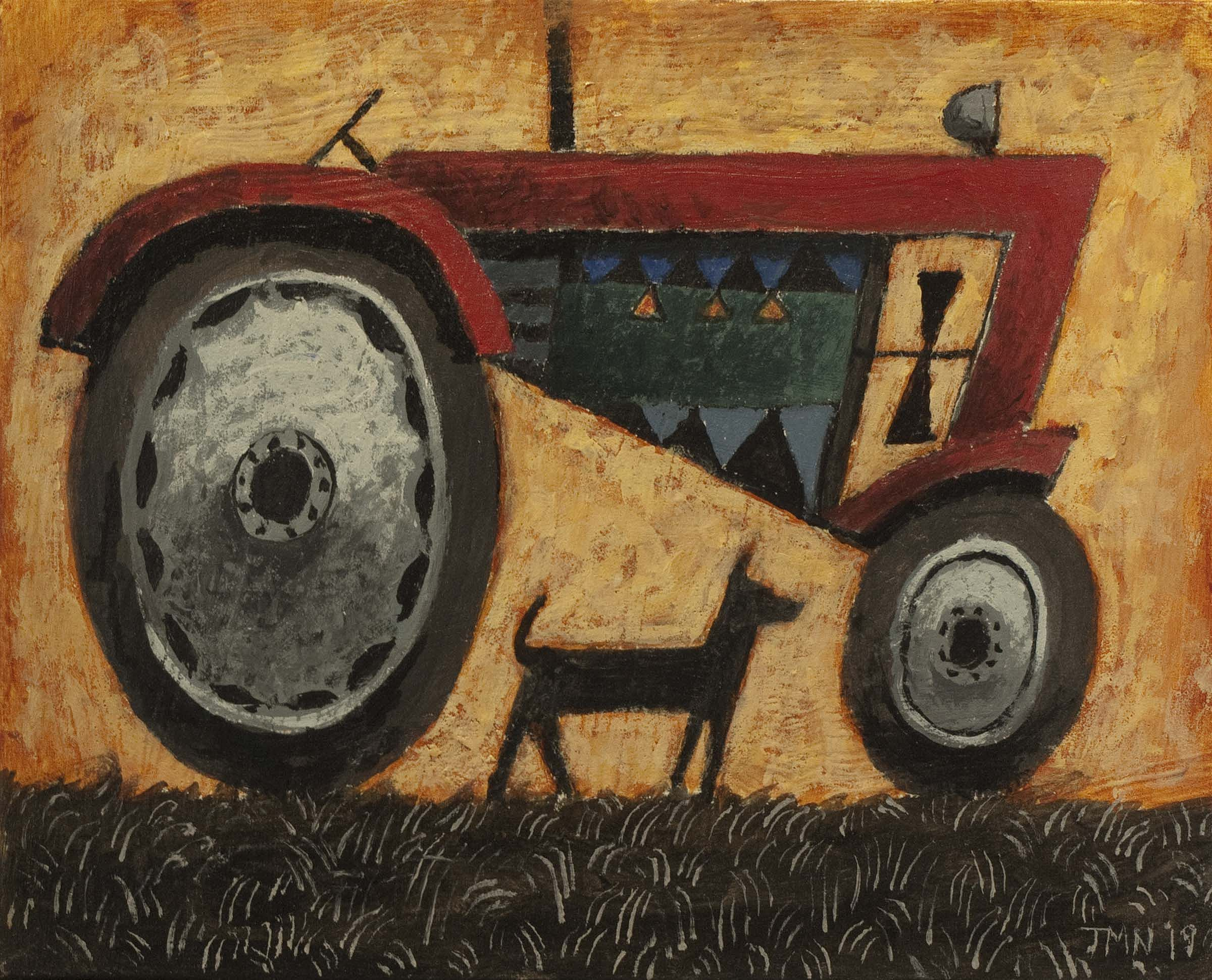 John  McNulty - Red tractor