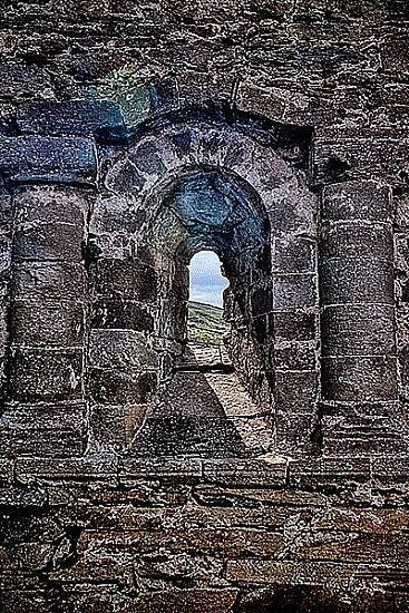 View Romanesque window, Kerry