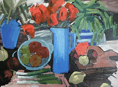 Unknown - Still Life with Kitchen II