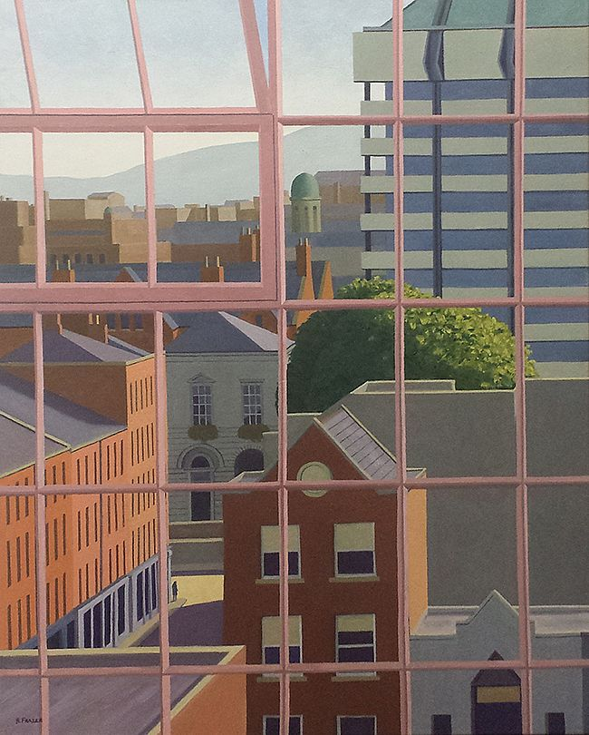Studio view 1 - Looking south from Henry Street by Hugh Frazer