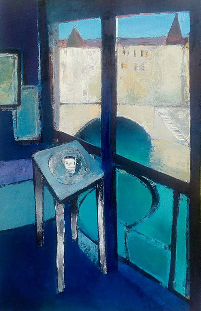 Studio window, After Matisse by Cormac O'Leary