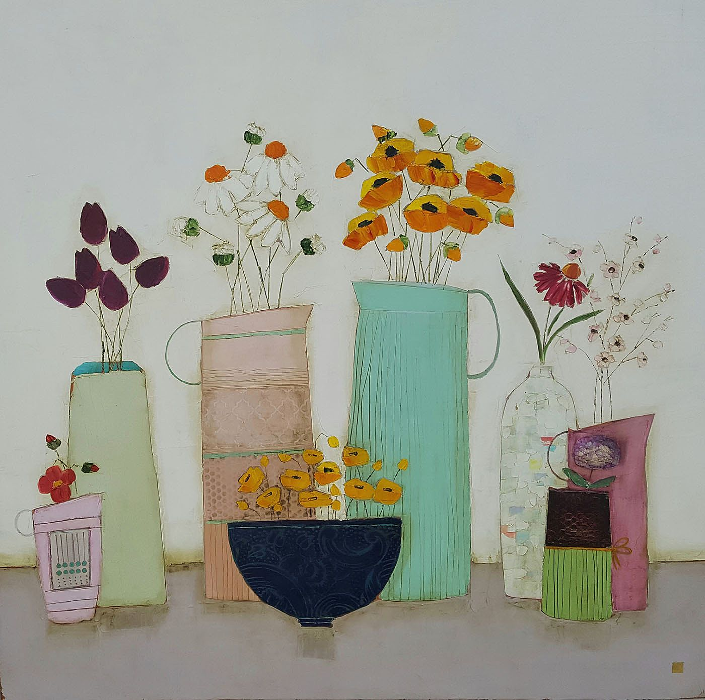 Eithne  Roberts - Summertime blooms