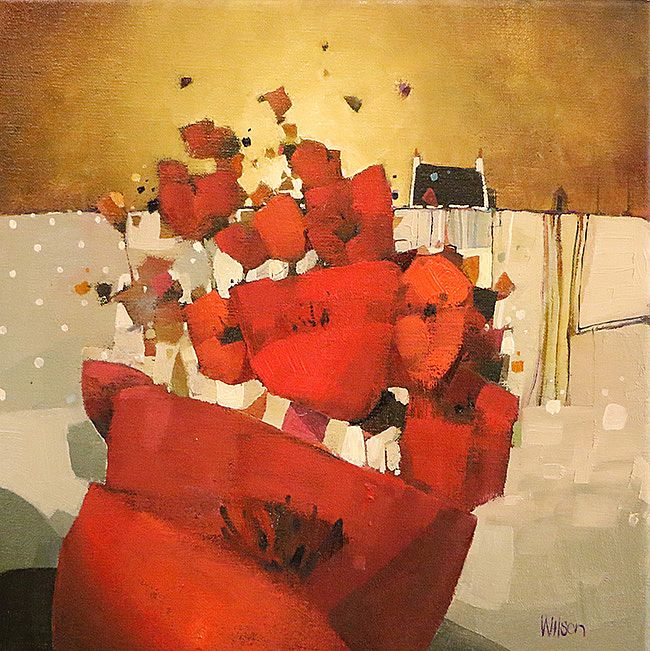 Gordon  Wilson - Sundown Poppy Plethora