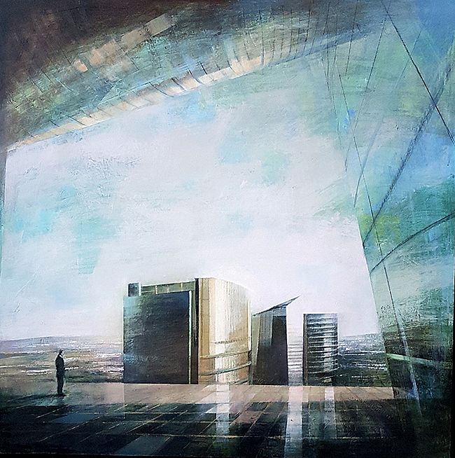 Cristina  Bergoglio - The Towers II