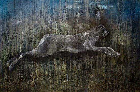 View Tapestry Hare