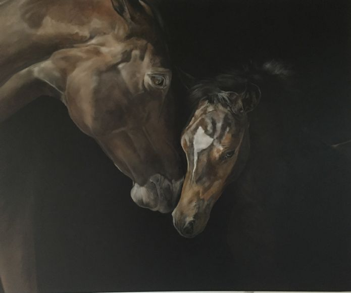 "Tony O'Connor Solo show - ""The Equus Connection"""