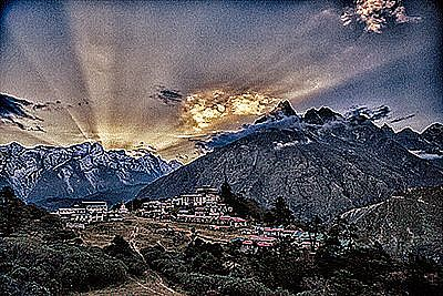 Unknown - Tengboche Monastery