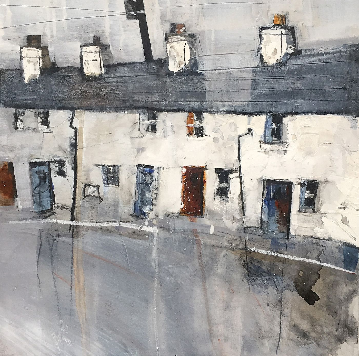 Pete  Monaghan - The house opposite