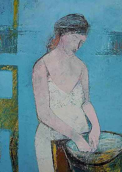 View The Blue Bather