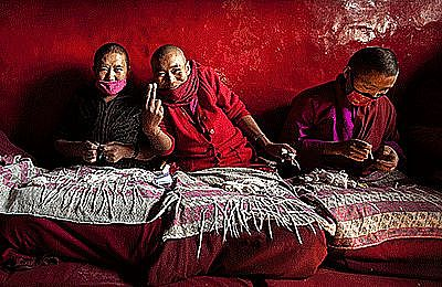 Unknown - Tibetan nuns