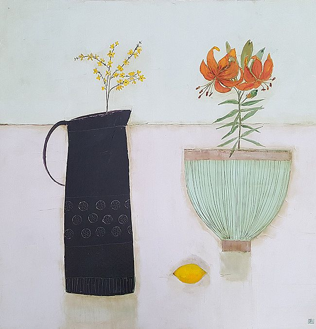 Eithne  Roberts - Tiger Lily and lemon
