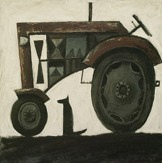 John  McNulty - Tractor with dog 4