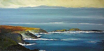 View Achill coastline