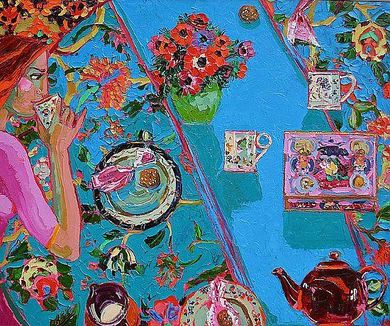 View Amaretti and Tea