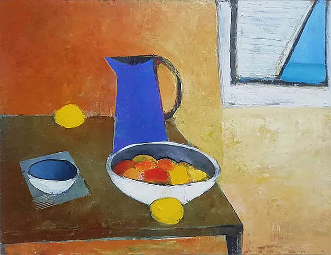 Cormac O'Leary - Antibes Still life