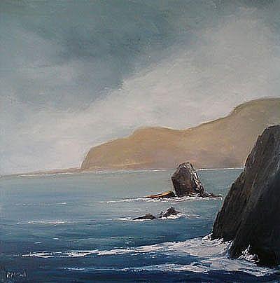 View Ashleam bay, Achill