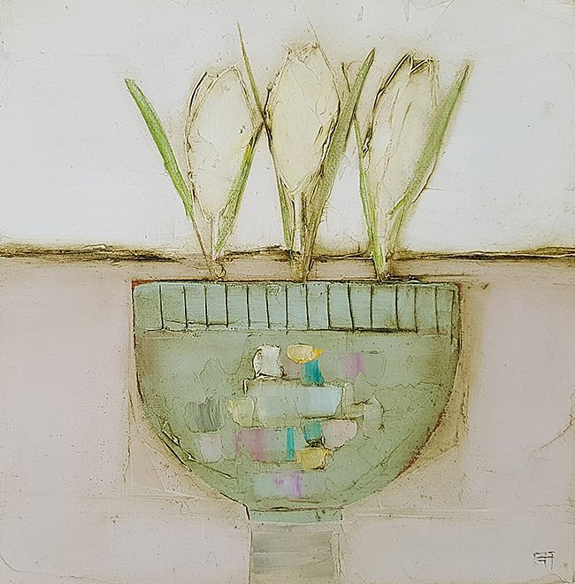 Eithne  Roberts - Blue crocus bowl