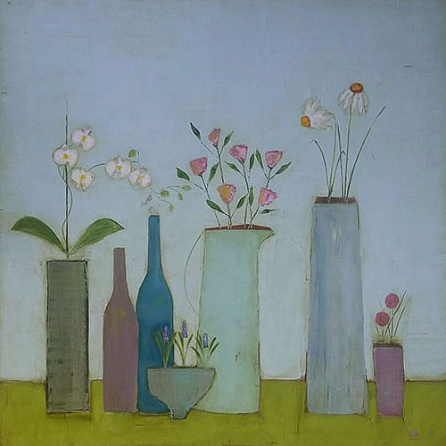 Eithne  Roberts - Bottles and Jugs
