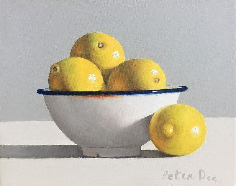 View Bowl Lemons Still Life