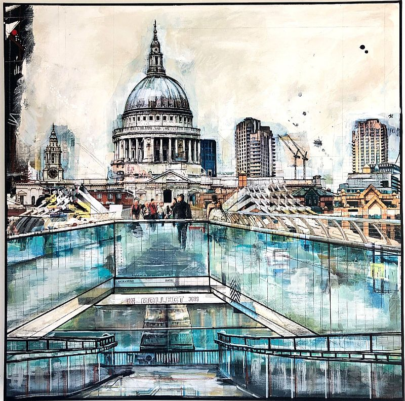 Anna  Allworthy - Bridge view of St.Pauls