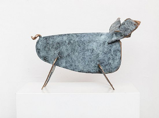 Seamus Connolly - Large Bronze Pig