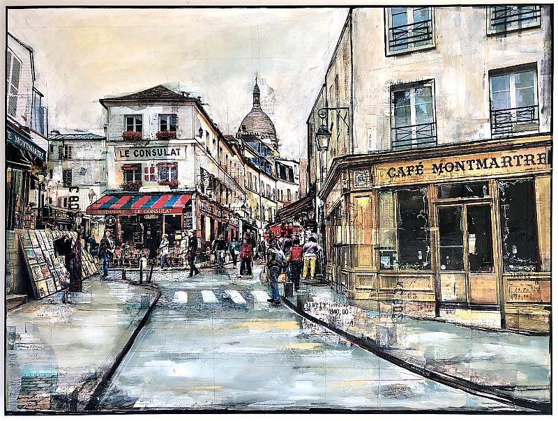 View Cafe Montmartre, Paris