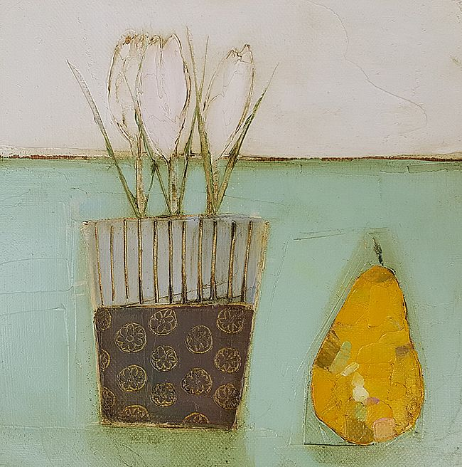 Eithne  Roberts - Crocus and pear