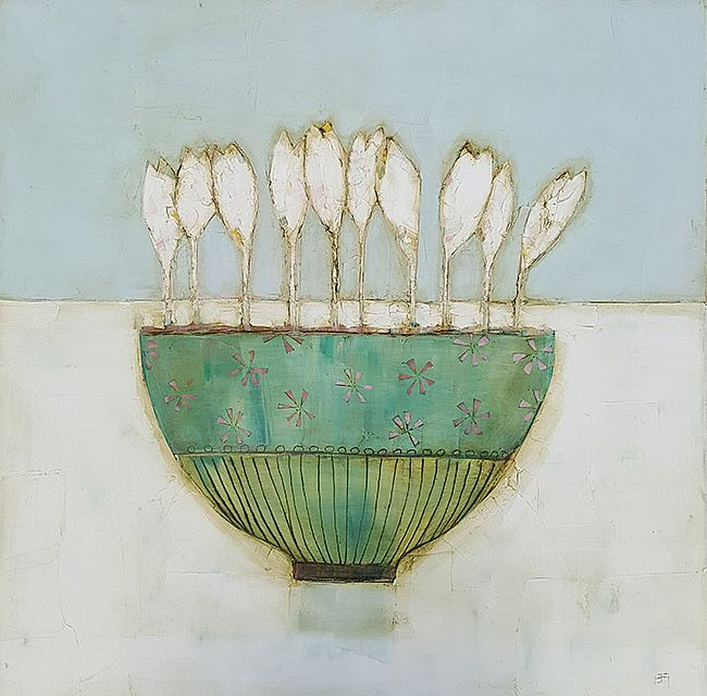 Eithne  Roberts - Crocus bowl