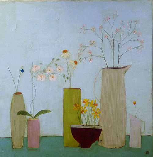 Eithne  Roberts - Daffodil Bowl and Jugs