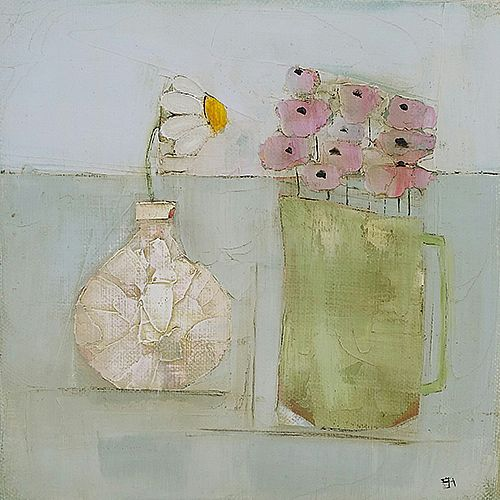 Eithne  Roberts - Daisy and pinks