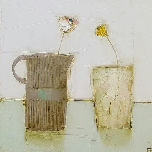 Eithne  Roberts - Dark jug light vessel