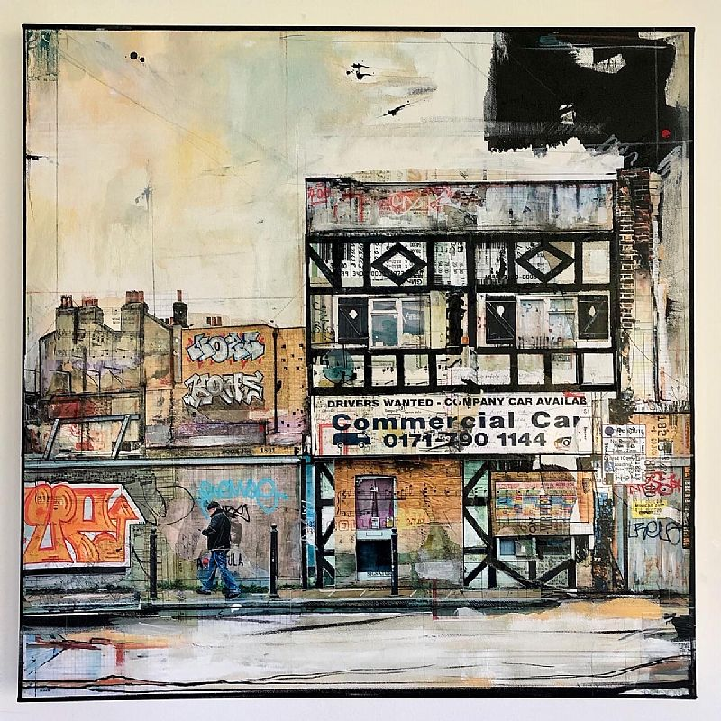 Anna  Allworthy - Derelict, Commercial Road, London