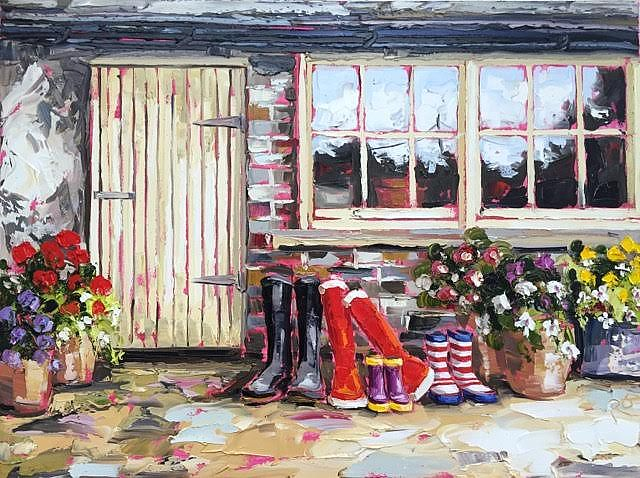 Roisin  O'Farrell - Potting shed dreams