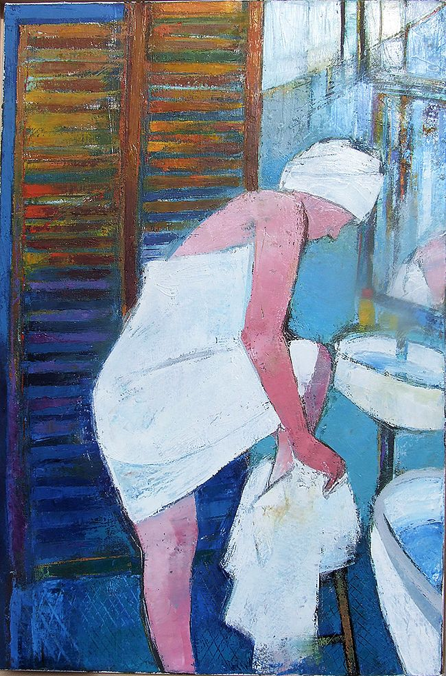 Cormac O'Leary - French Bather