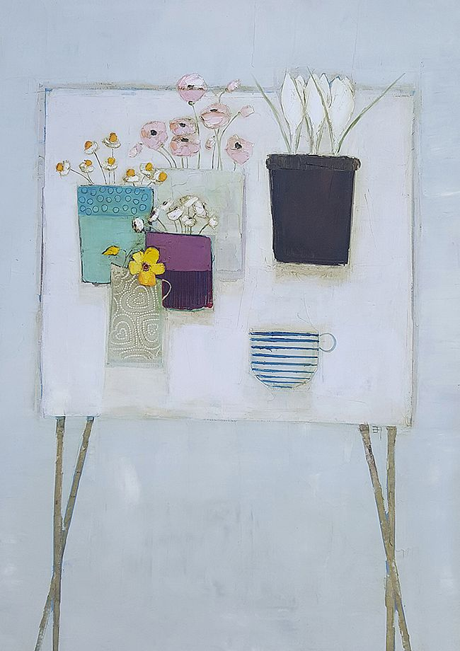 Eithne  Roberts - Garden table and tea