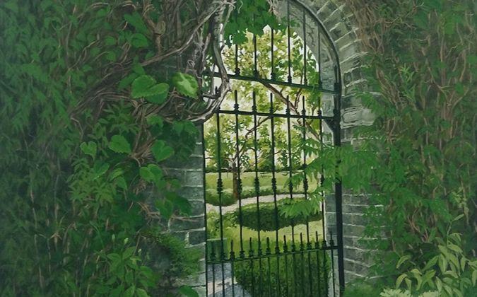 Geraldine O'Reilly Hynes solo show - The Secret Garden