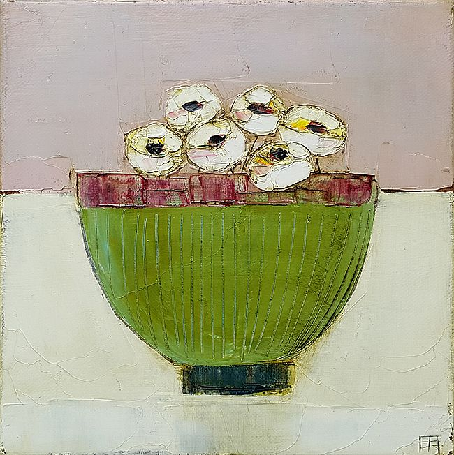 Eithne  Roberts - Green bowl