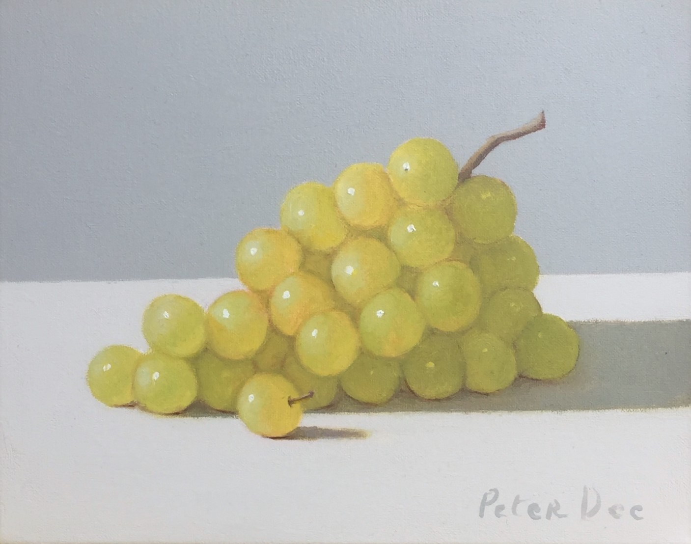 Green Grapes by Peter Dee