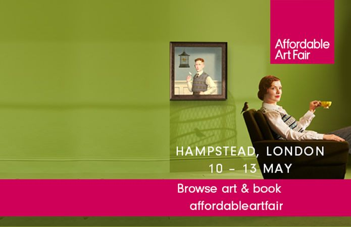 The Affordable Art fair Hampstead, London 2018