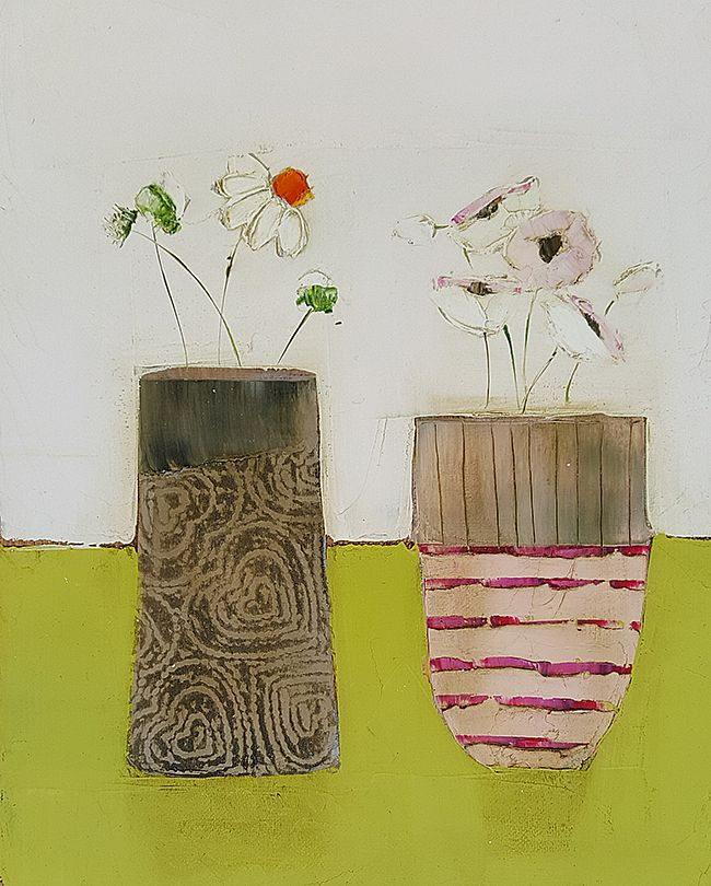Eithne  Roberts - Hearts and stripes